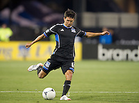 Santa Clara, Ca - March 10, 2012: The San Jose Earthquakes defeated the New England Revolution 1-0 at Buck Shaw Stadium.