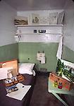 Artist's cell at Alcatraz Island, GGNRA