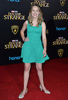 LOS ANGELES, CA. October 20, 2016: Alyssa Jirrels at the world premiere of Marvel Studios' &quot;Doctor Strange&quot; at the El Capitan Theatre, Hollywood.<br /> Picture: Paul Smith/Featureflash/SilverHub 0208 004 5359/ 07711 972644 Editors@silverhubmedia.com