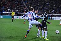 VOETBAL: HEERENVEEN: Abe Lenstra Stadion, 11-04-2015, Eredivisie, sc Heerenveen - AZ Alkmaar, Marten de Roon (#15), Eindstand: 5-2, ©foto Martin de Jong