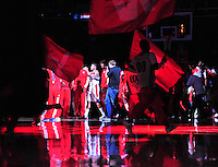 The Washington Wizards are introduced prior to tip-off against the Miami Heat at the Verizon Center in Washington, D.C. on Tuesday, December 4, 2012.   Alan P. Santos/DC Sports Box