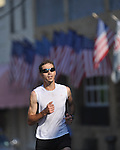 Charlie Dawson is the winner of the Stars and Stripes 5K in Oxford, Miss. on Monday, July 4, 2011.