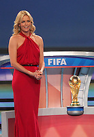 Charlize Theron during the FIFA Final Draw for the FIFA World Cup 2010 South Africa held at the Cape Town International Convention Centre (CTICC) on December 4, 2009.