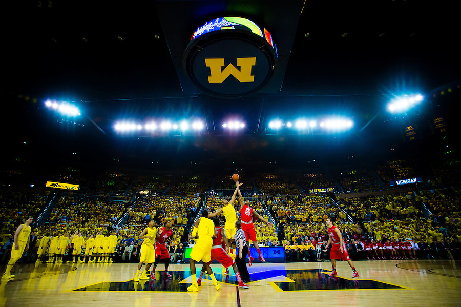 University of Michigan Basketball for ESPN the Mag | 1 Day 1 Game
