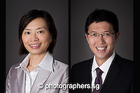 singapore photo studios - headshot portrait for business executives