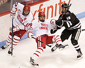 Nikolas Olsson (BU - 13), Ryan Cloonan (BU - 8), Jacob Bryson (PC - 18) - The Boston University Terriers tied the visiting Providence College Friars 2-2 on Saturday, December 3, 2016, at Agganis Arena in Boston, Massachusetts.