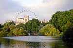 United Kingdom, Great Britain; England; London. Scenic view from Kensington Gardens.