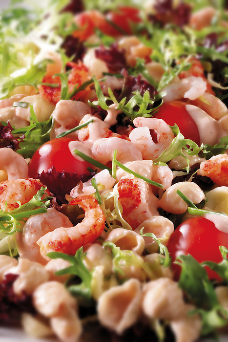 Crayfish salad food photos