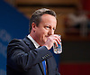 Conservative Party Conference, ICC, Birmingham, Great Britain <br /> 1st October 2014<br /> <br /> Rt Hon David Cameron MP The Prime Minister<br /> Leader of the Conservatives <br /> speech <br /> <br /> <br /> Photograph by Elliott Franks <br /> Image licensed to Elliott Franks Photography Services