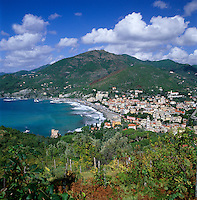 Italy, Liguria, Levanto: village at the Ligurian Coast and part of the Cinque Terre National Park | Italien, Ligurien, Levanto: Dorf an der Ligurischen Kueste und Teil des Cinque Terre Nationalparks