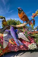 Rose Parade;  Pasadena; , CA, Tournament of Roses, LA California; Los Angeles High dynamic range imaging (HDRI or HDR)