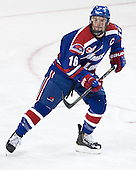 Riley Wetmore (UML - 16) - The University of Massachusetts Lowell River Hawks defeated the Boston College Eagles 4-2 (EN) on Tuesday, February 26, 2013, at Kelley Rink in Conte Forum in Chestnut Hill, Massachusetts.