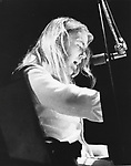 Allman Brothers 1974 Gregg Allman at Knebworth Festival.© Chris Walter.