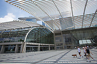 Singapore. Marina Bay Sands. The Shopping Mall.