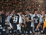 FinalFour, Handball Pokal, Finale: THW Kiel - HSV Hamburg