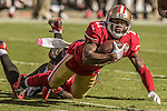 San Francisco 49ers wide receiver Quinton Patton (11) catches pass on Sunday, October 23, 2016, at Levis Stadium in Santa Clara, California. The Buccaneers defeated the 49ers 34-17.