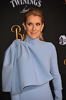 Celine Dion at the premiere for Disney's &quot;Beauty and the Beast&quot; at El Capitan Theatre, Hollywood. Los Angeles, USA 02 March  2017<br /> Picture: Paul Smith/Featureflash/SilverHub 0208 004 5359 sales@silverhubmedia.com