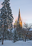 1.24.13 Dome and Basilica Winter.JPG by Matt Cashore/University of Notre Dame