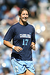 14 October 2007: North Carolina's Yael Averbuch. The University of North Carolina Tar Heels defeated the Wake Forest University Demon Deacons 1-0 at Fetzer Field in Chapel Hill, North Carolina in an Atlantic Coast Conference NCAA Division I Womens Soccer game.