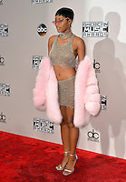 LOS ANGELES, CA - NOVEMBER 20: Keke Palmer at the 44th Annual American Music Awards at the Microsoft Theatre in Los Angeles, California on November 20, 2016. Credit: Koi Sojer/Snap'N U Photos/MediaPunch