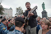 Banned Moscow Protest Concert