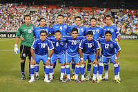 El Salvador National Team starting eleven.   The Guatemalan National Team defeated  El Salvador National Team 2-0 in a friendly international at RFK Stadium, Saturday September 7, 2010.