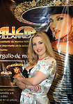 Mexican ranchero singer Alicia Villarreal poses for photographers as she promotes her new album Orgullo de Mujer (Woman's proud) during a press conference in Mexico City. The new album was produced by Joan Sebastian.  Photo by © Javier Rodriguez