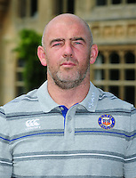 Allan Ryan poses for a portrait at a Bath Rugby photocall. Bath Rugby Media Day on August 24, 2016 at Farleigh House in Bath, England. Photo by: Patrick Khachfe / Onside Images