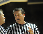 "Referee Doug Shows at Mississippi vs. LSU at the C.M. ""Tad"" Smith Coliseum on Thursday, March 4, 2010 in Oxford, Miss. Ole Miss won 72-59."