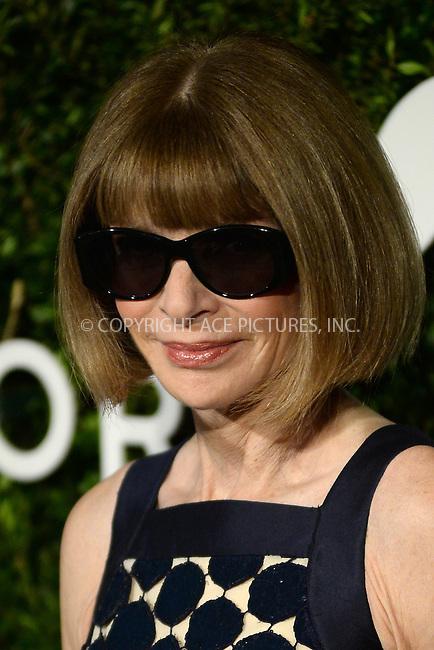 www.acepixs.com<br /> October 17, 2016  New York City<br /> <br /> Anna Wintour attending the God's Love We Deliver Golden Heart Awards on October 17, 2016 in New York City.<br /> <br /> <br /> Credit: Kristin Callahan/ACE Pictures<br /> <br /> <br /> Tel: 646 769 0430<br /> Email: info@acepixs.com