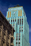 Art Deco building in downtown Los Angeles