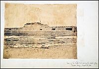 BNPS.co.uk (01202 558833)<br /> Pic: Reeman&amp;Dansie/BNPS<br /> <br /> Rear of the North Fort showing the retreat of the Chinese army August 22, 1860.<br /> <br /> Rare photos showing some of the precious antiques looted from China's Summer Palace 156 years ago which Asian millionaires are today buying back in their droves have come to light.<br /> <br /> The images, taken by celebrated photographer Felice Beato soon after the theft, depict Ming vases, pots and bowls made for the Chinese emperor to display at the Imperial palace in Peking.<br /> <br /> The mystical building was partially destroyed by the British and French and its wealth of contents seized and taken to Europe at the end of the Second Chinese Opium War in 1860.<br /> <br /> The beautiful pieces of porcelain are the very objects the newly-rich Chinese are paying British auction houses millions of pounds for now as they attempt to buy back their lost heritage.