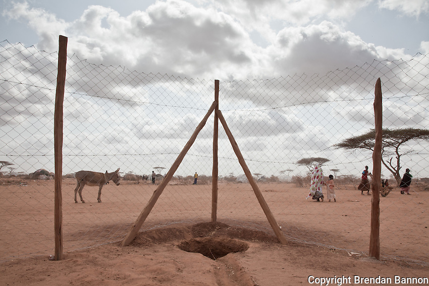 Dadaab refugee camp in northern Kenya.