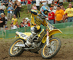 Motocross, MX2 WM 2004, Weltmeisterschaft, Grand Prix of Europe, Gaildorf (Germany) Wyatt Avis (RSA), Kawasaki