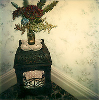Old gas heater, Mt Eden 1978