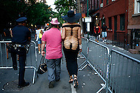 New York, USA. 28 June 2014. LGBT members take part in the gay pride parade 2014 in New York. Photo by Eduardo MunozAlvarez/VIEWpress