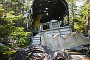 Appalachian Trail - Crash site of Northeast Airlines Flight 792 on Mount Success in the New Hampshire White Mountains. This plane was a Douglas DC-3 that crashed on November 30, 1954. Seven people on-board survived the initial crash, but two later died from injuries while waiting to be rescued.