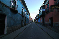 An early start to the day in Potosi, Bolivia