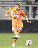 Brad Rusin 324 Of the Carolina Railhawks during the second leg of the USSF-D2 championship match against the Puerto Rico Islanders at WakeMed Soccer Park, in Cary, North Carolina on October 30 2010. Game ended 1-1, Islanders won the championship 3-1 on overall goals.