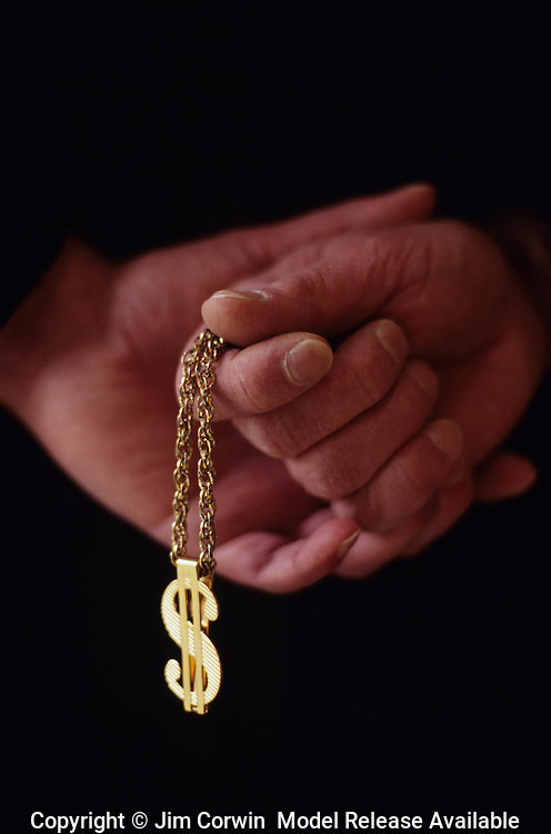 Editorial/Conceptual Images of Religion and Money