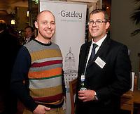 Dan Turner of Bunches Floral Post (left) and John Salt of Baker Tilly