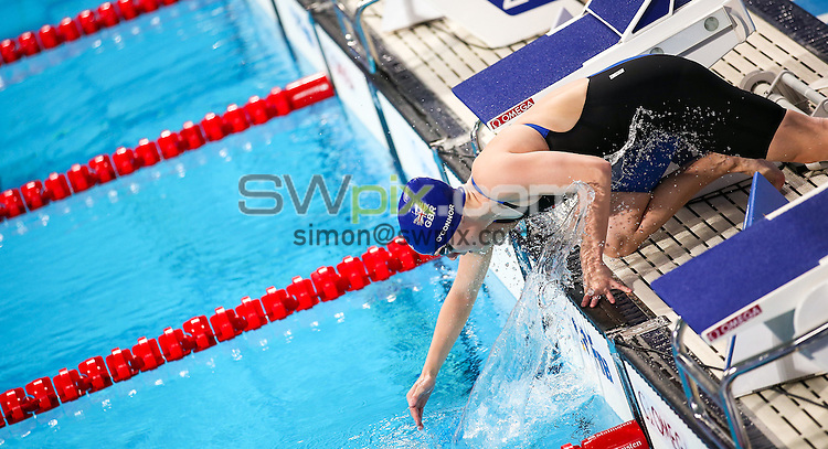 Picture by Alex Whitehead/SWpix.com - 06/08/2015 - Swimming - 16th FINA World Swimming Championships 2015 - Kazan Arena Stadium, Kazan, Russia - Great Britain's Siobhan-Marie O'Connor.