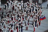 OLYMPICS: SOCHI: , Opening Ceremony, 07-02-2014, ©photo Martin de Jong