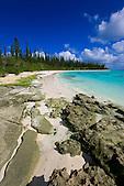 L'îlot Brosse à marée basse, Ile des Pins, Nouvelle-Calédonie