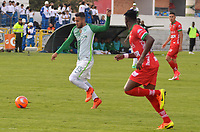 TUNJA -COLOMBIA, 13-05-2017: Juan P Nieto jugador de Nacional en acción durante el encuentro entre Patriotas FC y Atletico Nacional por la fecha 18 de la Liga Águila I 2017 realizado en el estadio La Independencia de Tunja. / Juan P Nieto player of Nacional in action during the match between Patriotas FC and Atletico Nacional for the date 18 of Aguila League I 2017 played at La Independencia stadium in Tunja. Photo: VizzorImage / Jose M Palencia  / Cont