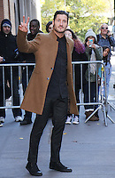NEW YORK, NY November 23: Valentin Chmerkovskiy winner of Dancing with Stars 2016 at the View in New York City.November 23, 2016. Credit:RW/MediaPunch