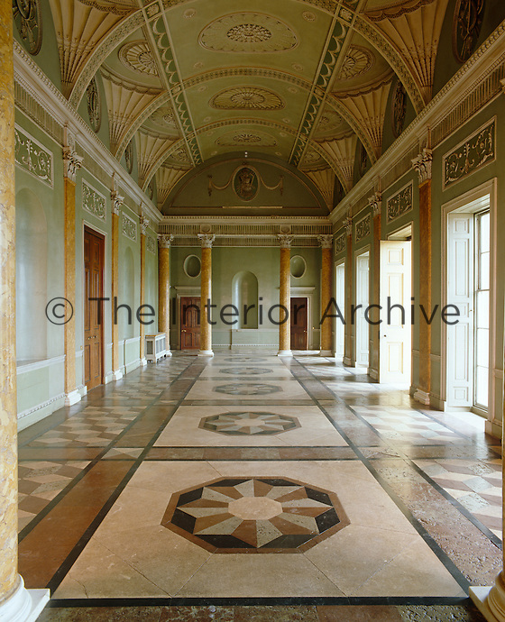 James Wyatt's vaulted hall at Heveningham Hall is considered to be one of the most beautiful rooms in England