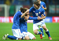 Fussball WM Quali 2014: Italien - Daenemark