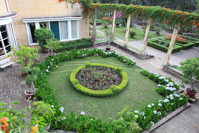 Bao Dai Summer Palace. Dalat, Vietnam. April 17, 2016.