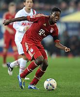 FUSSBALL   1. BUNDESLIGA  SAISON 2011/2012   12. Spieltag FC Augsburg - FC Bayern Muenchen         06.11.2011 David Alaba (FC Bayern Muenchen)